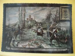 CPM 9812 -  65 CHATEAU FORT DE MAUVEZIN - ARRIVEE DE GASTON FEBUS, DE SON FILS GASTON DE FOIX...PAR EDOUARD LACOSTE 1912 - Francia