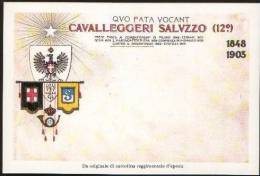 H21) 12° REGGIMENTO CAVALLEGGIERI SALUZZO - Documentos