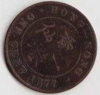 @Y@   HONG KONG   1 Cent 1877    ( 3412 ) - Hong Kong