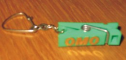 Porte-clés Lessive Omo Pince à Linge Verte - Schlüsselanhänger