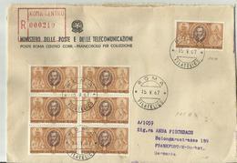 ITALIA R-CV 1967 - 6. 1946-.. Republik