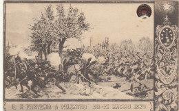 10° Reggimento Fanteria - Cartolina Viaggiata 1911 - Ann. Tondo-riquadrato Bitonto - FP - Vedi 2 Foto - Regiments