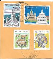 1991: Bundeshaus Bern - Capitol Washington - Schweiz