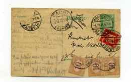 LEntier De DRESDEN  ( Allemagne ) Taxé à L'arrivée à CAPRI  ITALIE / 1924