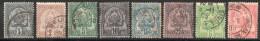 Tunisie  Tunesien Y&T 9° - 12°, 14°, 16°, 22°, 23° - Used Stamps