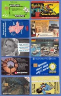 50 Used Telephone Cards / Chips / Europe (10 Scans), Good Condition ... - Télécartes