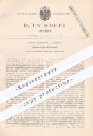 Original Patent - Otto Zabekow In Berlin , 1882 , Mundharmonika Mit Mechanik | Harmonika , Musikinstrument , Musik !!! - Historische Dokumente