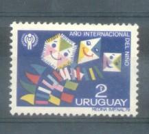URUGUAY AÑO 1979 -  AÑO INTERNACIONAL DEL NIÑO YVERT NR. 1026 MNH - Uruguay