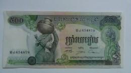 Billete Camboya. 100 Riels. 1973. Sin Circular - Cambodia