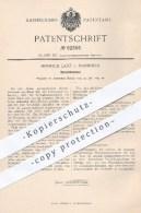 Original Patent - Heinrich Lanz , Mannheim  1894 , Dreschtrommel | Dreschmaschine , Drescher , Dreschen , Landwirtschaft - Historische Dokumente