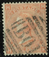 GB Yv. N°32 - 4p Orange Pl. 12 - Oblitéré - Gebraucht