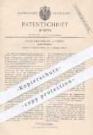 Original Patent - Otto Hattendorf , Leipzig , 1886 , Überfüllhahn | Zapfhahn , Zapfanlage , Bier Zapfen , Ausschank !!! - Historische Dokumente