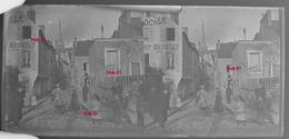 Photographie - Plaque De Verre - Scène De Ville, Melun (?) (B 513-1, Lot 5) - Glasplaten