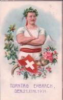 Embrach, Turntag Den 21. Juni 1908 (23.6.08) - ZH Zurich