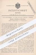 Original Patent - Rud. Kronenberg , Carl August Jüngel , Ohligs , 1895 , Herstellung Von Messerklingen   Messer , Klinge - Historische Dokumente