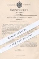 Original Patent - Wilhem Rossel , Berlin Schöneberg , 1900 , Senfbehälter   Behälter Für Senf , Haushalt , Küche , Koch - Historische Dokumente