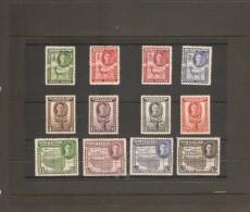 SOMALILAND 1942 SET SG 105/116 MOUNTED MINT Cat £48 - Somaliland (Protectorate ...-1959)