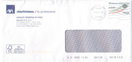 ITALIA - ITALY - ITALIE - 2016 - 0,95€ Ordinaria - Isolato - Viaggiata Da Bologna Per Forlì - 2011-...: Storia Postale
