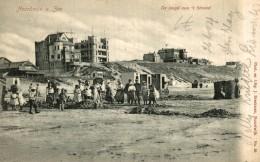 1904   UNIQUE  DE JEUGD AAN AAN ´T STRAND  NOORDWIJK AAN ZEE - Noordwijk (aan Zee)