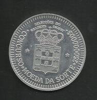 Portugal Jeton Concours Publicitaire Reader's Digest C.1990 Medal Publicitary Contest Reader's Digest - Jetons & Médailles