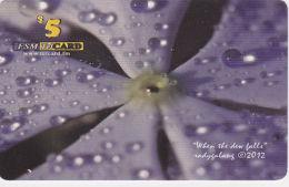 MICRONESIA - Remote Memory 5$ Card, When The Dew Falls, 2012, Used