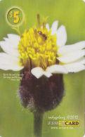 MICRONESIA - Remote Memory 5$ Card, Flower 2, Used