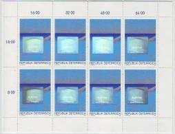 Österreich 1988, ANK 1967, Hologramm- Kleinbogen, Postfrisch ** - Hologramme