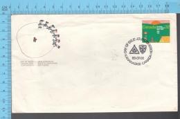 Canada - 1983 Scott #993, Scouting, Scout Encapment - FDC PPJ , Fancy Cancelation - Scoutisme