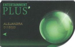 Maronas Entertainment - Uruguay - Entertainment Plus Slot Card - 08/14 Over Mag Stripe   .....[FSC]..... - Casino Cards