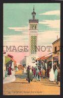 Mosque SIDI EL BECHIR TUNIS TUNISIA Islamic Postcard RARE VINTAGE ORIGINAL - Religions & Beliefs