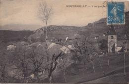 01)  GEOVREISSIAT  (GEOVRESSIAT  - AIN) VUE GENERALE - Francia