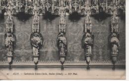 CPA - ALBI - CATHEDRALE SAINTE CECILE - STALLES - DETAIL - 97 - N. D. - Albi