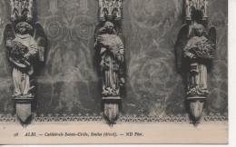 CPA - ALBI - CATHEDRALE SAINTE CECILE - STALLES - DETAIL - 98 - N. D. - Albi