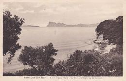 83----SAINT CYR SUR MER--les Lecques--le Bec De L'aigle Vu Des Lecques---voir 2 Scans - Saint-Cyr-sur-Mer