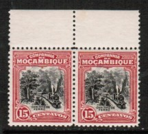 MOZAMBIQUE CO.   Scott # 130** VF MINT NH PAIR - Mozambique