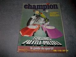 Champion Salon Auto-moto N° 81 - Auto/Moto