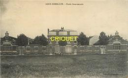 59 Loos-Ennequin, Ecole Communale, Carte Pas Courante - Autres Communes