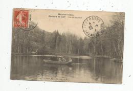 Cp , 05 , Les Hautes Alpes , Environs DeGAP , Lac De CHARANCE , Voyagée 1912 , Barques , Animée - France