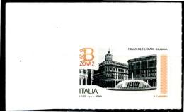 ITALIA / ITALY 2016** - Piazza De Ferrari - Genova - 1 Val. Autoadesivo Come Da Scansione - 6. 1946-.. Repubblica