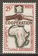 MAURITANIE   -   1964 .   Y&T N° 183 * .   Coopération  /  Mains - Mauritania (1960-...)