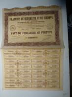 Action Filatures De Bourrette Et De Schappe  Thizy 69 Rhône - Textile