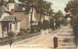Cpa La Baule Avenue Pierre Percee - La Baule-Escoublac