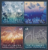 A.A.T. AUSTRALIAN ANTARCTIC TERRITORY 2016 Ice Flowers, Set Of 4 Gummed Stamps [MNH] - Unused Stamps