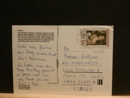 62/028  CP CESKOSL.  POUR ESPAGNE - Czechoslovakia
