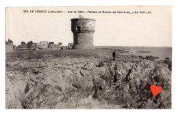 11839-LE-44-LE CROISIC-Sur La Côte-Plateau Et Moulin De Pen-Avel,près Port-Lin - Le Croisic
