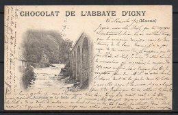 Pub, Chocolat De L'abbaye D'Ingny, Allevard, Le Breda (38) - Publicités