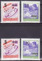 YUGOSLAVIA 1991. Definitive, MNH (**), Mi 2518/19  A, C - 1945-1992 Sozialistische Föderative Republik Jugoslawien