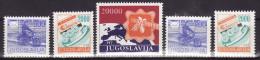 YUGOSLAVIA 1989. Definitive, MNH (**), Mi 2360/62 A, C - Neufs