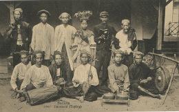Batavia 1045 Dansmeid ( Topeng ) Native Band Edit Tio Tek Weltevreden  - Indonesia