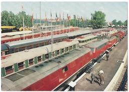 15804 - Die Eisenbahnen Auf Der IVA München 1965 Lokomotiv Und Fahrzeugschau Im Freigelände (format 10X15) - Expositions